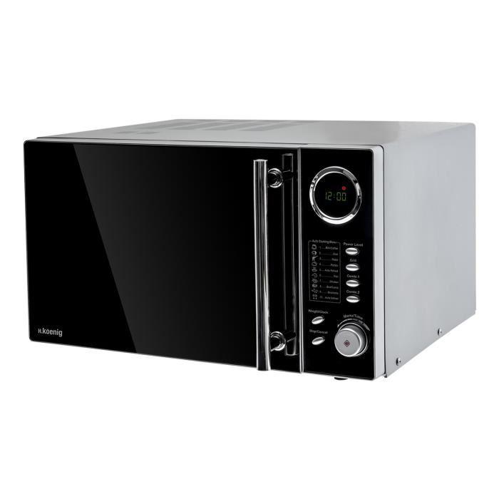 Test du H.Koenig VIO9 Micro-Onde et Grill Noir - Guide d achat ... 0ac53764e1d9