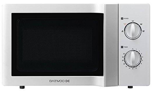 Test du four micro-ondes Daewoo KOR6L65 Micro-Ondes Mécanique 800W 20 L  Blanc 659b40c7e6b3