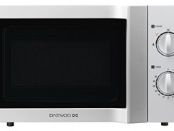 Test du four micro-ondes Daewoo KOR6L65 Micro-Ondes Mécanique 800W 20 L Blanc
