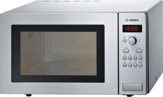 Bosch HMT84M451 Micro-ondes 25l 900W en acier inoxydable